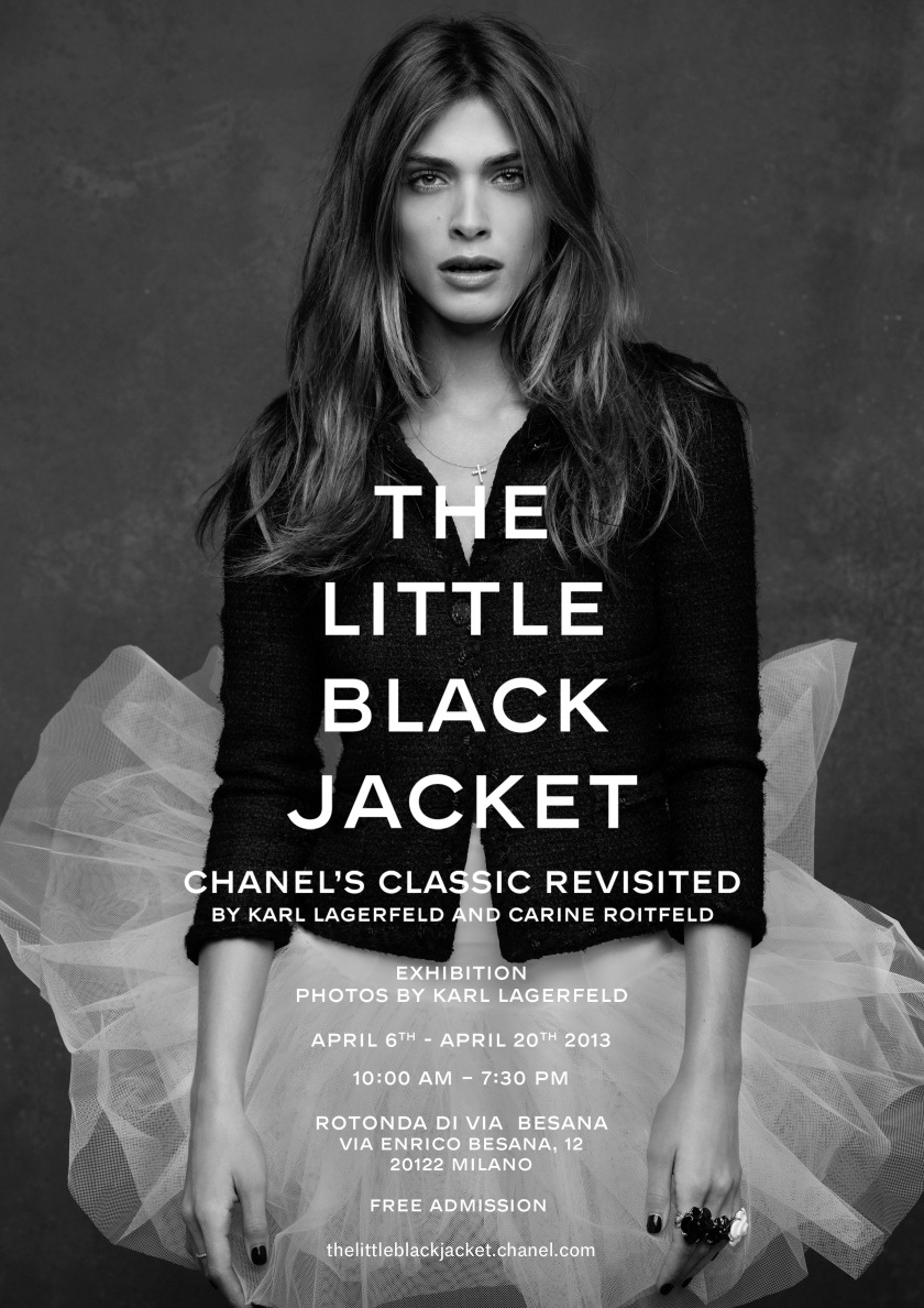 The Little Black Jacket Milan - Announcement (En)