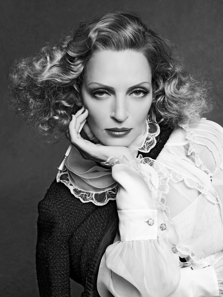 Uma_Thurman-The Little Black Jacket CHANEL's classic revisited by Karl Lagerfeld and Carine Roitfeld, Steidl 2012