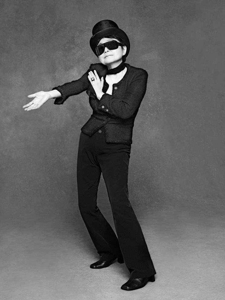 Yoko_ono-The Little Black Jacket CHANEL's classic revisited by Karl Lagerfeld and Carine Roitfeld, Steidl 2012
